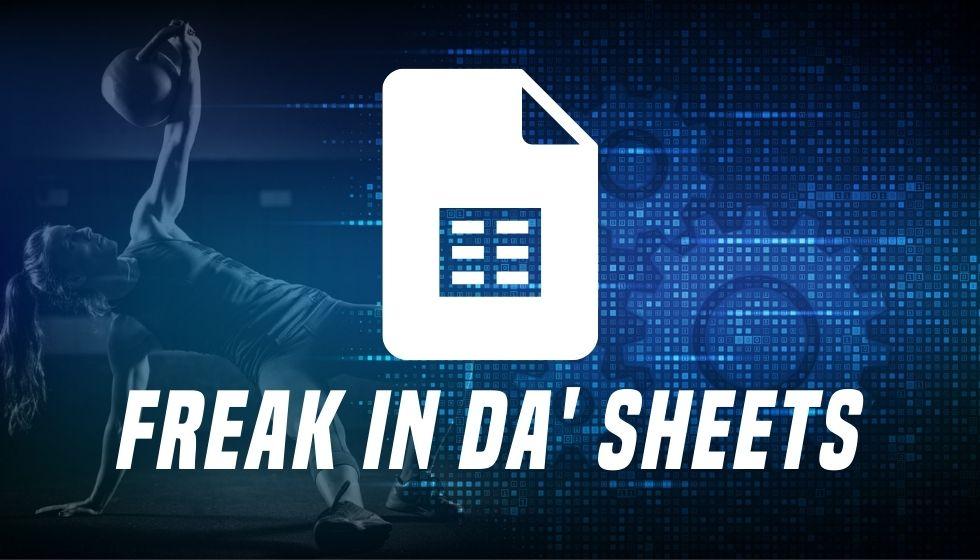 Freak In Da' Sheets